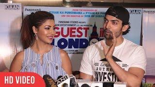 Gurmeet Choudhary And Debina Bonnerjee At Guest Iin London Movie Special Screening