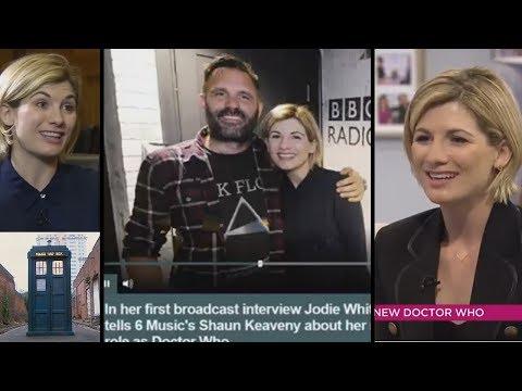 Jodie Whittaker Interviews Talks Doctor Who.