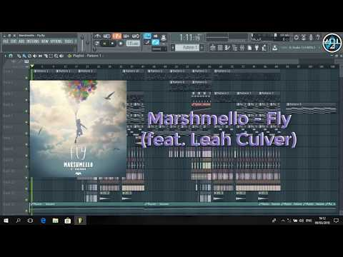 Download Marshmello - Fly ft. Leah Culver (Remake) FLP