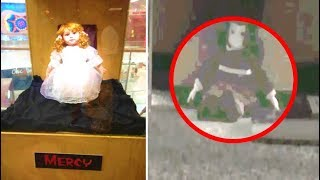 5 Real Life Haunted Doll Encounters | Haunted Dolls Caught On Tape Moving