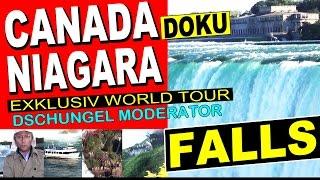 Niagara Falls Canada (Niagarafälle) - BIG USA / CANADA DOKU Exclusiv World Tour
