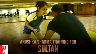 Anushka Sharma training for Sultan