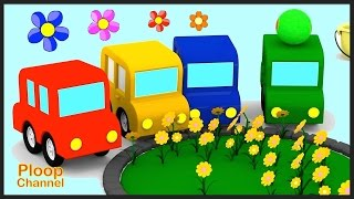 Cartoon Cars - SPRING  TIME! Cartoons for Children - Kids Cars Cartoons to Learn Gardening