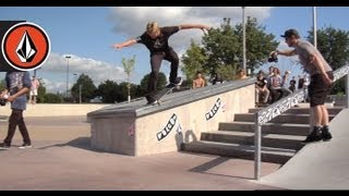 Stop #5 Volcom Stone's Wild In The Parks St. Cloud, MN 2012