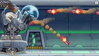 Jetpack Joyride iPhone Gameplay