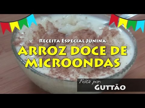 ARROZ DOCE DE MICROONDAS 004 Blog do Guttão