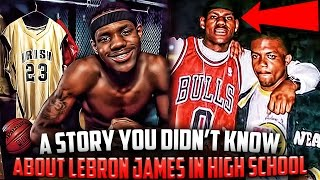 How LEBRON JAMES Tried To Enter The 2002 NBA Draft Before Graduating HIGH SCHOOL!?