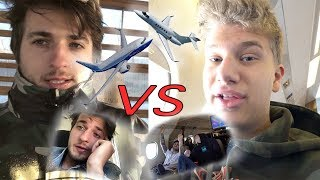 A commercial plane VS A $30 million private jet