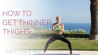 Get Thinner Thighs | Rebecca Louise