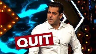 OMG! Salman Khan To QUIT Bigg Boss? - Know Why