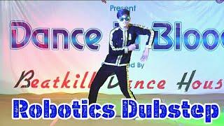 Little Fik - Shun india   New Style Roboticks Dubstep Dance   Morbi, Gujrat. In India