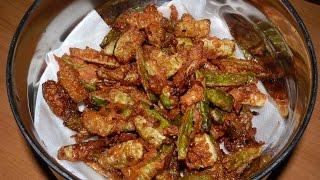 kovakkai poriyal fry recipe in tamil/kovakkai pepperfry (கோவக்காய் பொறியல்