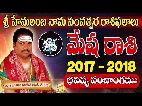మేష రాశి 2017 To 2018 - Mesha Rasi (ARIES Horoscope) - Telugu Rasi Phalalu 2017