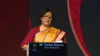 Taslima Nasrin at India Ideas Conclave 2016