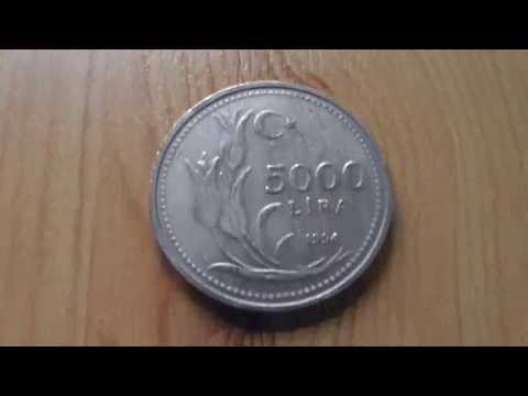 Coins of the Turkish Lira in HD