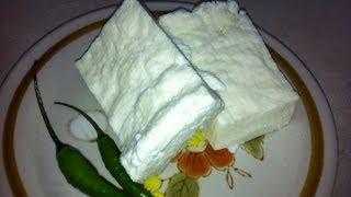 طريقه عمل الجبنه القريش How to make cottage Cheese