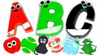 Phonics Song | ABC Nursery Rhymes For Kids | Children's Music Videos