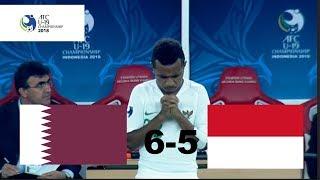 INDONESIA U-19 VS QATAR U-19 (AFC U-19) 5-6