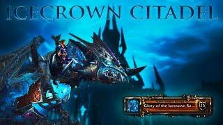 WoW Icecrown Citadel | The Icebound Frostbrood Vanquisher (Achievement Mount)