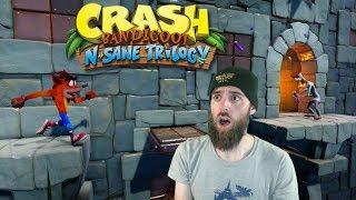 The Hardest Level In Crash | STORMY ASCENT New DLC [Crash Bandicoot N. Sane Trilogy]