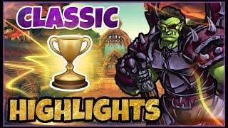 The first ever Classic WoW PvP Cash Prize Event - The Classic Cup | Classic WoW Highlights