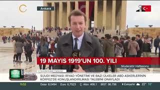 Mustafa Kemal Atatürk'ün milli mücadeleyi başlatmak üzere Samsun'a çıkışının 100. yılı