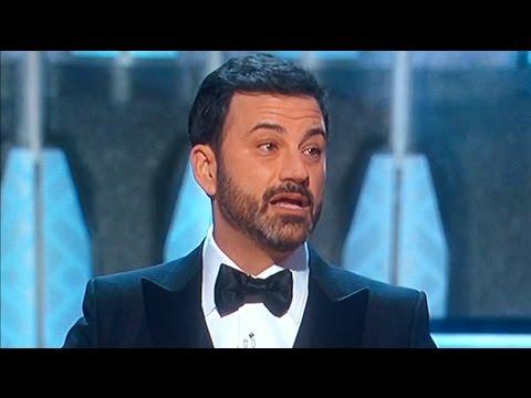 Jimmy Kimmel Trashes Trump at Oscars 2017
