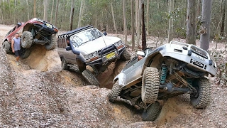 4x4 Challenge @ Whitemans Lane - Dooralong NSW Australia