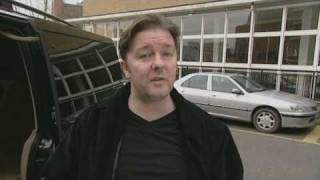 Ricky Gervais Video Diary - Classic Comic Relief