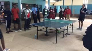 Nanyuki High Vs Thika High Table Tennis Regional final(Aberdare region)