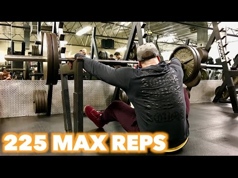 225 FOR 100 REPS!?