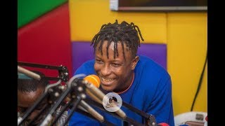 Kelvyn Brown drops #Toffee freestyle with Stonebwoy on Okay FM