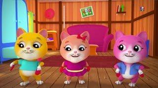 Trois petits chatons rimes enfants français Les chatons riment en français Three Little Kittens
