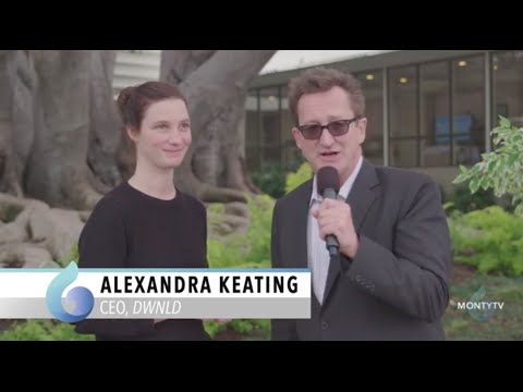 Alexandra Keating, DWNLD, at The Montgomery Summit 2015