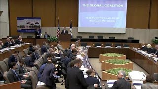 Remarks at Global Coalition to Defeat ISIS Small Group Session