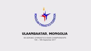 Asian Aerobic Gymnastics Championship-2017. Local City of Ulaanbaatar, Mongolia
