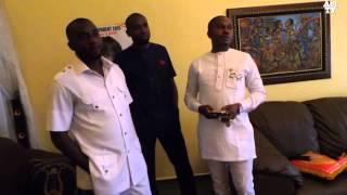 Nwanyi Afikpo interviews USO squad