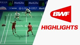 Thaihot China Open 2016 | Badminton QF – Highlights