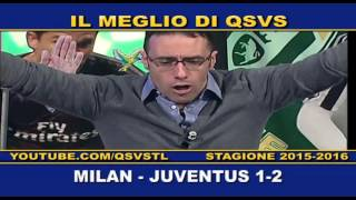 QSVS - I GOL DI MILAN - JUVENTUS 1-2  TELELOMBARDIA / TOP CALCIO 24