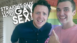 STRAIGHT GUY LEARNS ABOUT GAY SEX? (Ft. Callum McSwiggan)