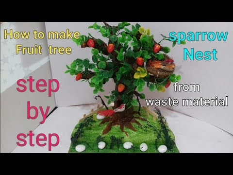 Xxx Mp4 How To Make Tree From Waste Material Tree Model Making Waste Material Craft Ideas 3gp Sex
