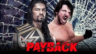 WWE Payback 2016 Full Show Results (WWE 2K16 Highlights)