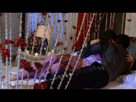 Xxx Mp4 Suhagrat First Night Bed Video Beautiful Bridal Wedding Bedroom Decoration 3gp Sex