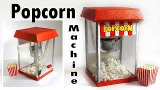 Cute Miniature Popcorn Machine Tutorial