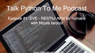 Episode #1: EVE - RESTful APIs for humans