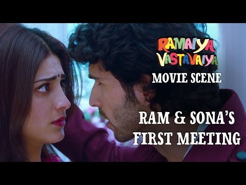 Xxx Mp4 Ram Sona S First Meeting Ramaiya Vastavaiya Scene Girish Kumar Shruti Haasan 3gp Sex