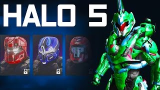 Halo 5 Guardians - ALL CUSTOMIZATION + SPARTAN COMPANIES!! JOIN UP!!