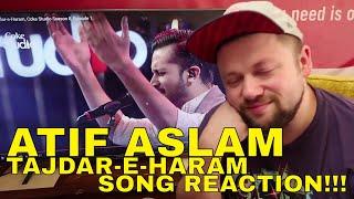 ATIF ASLAM TAJDAR-E-HARAM Reaction!!! *so relaxed* COKE STUDIO