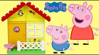 PEPPA PIG Garden House Construction Set with George, New Friends Toy Surprises / Toys Unlimited