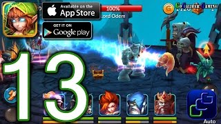 Heroes and Titans: 3D Battle Arena iOS Walkthrough - Part 13 - Chapter 2: Heroes Unite (ELITE)